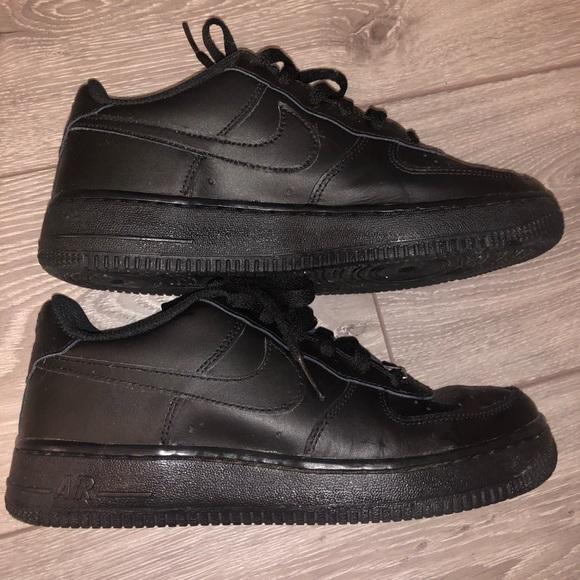 Nike All Black Air Force 1s